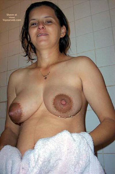 Pic #3 - showering wife