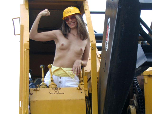 Pic #3 - Robin Playing With Heavy Equipment  1