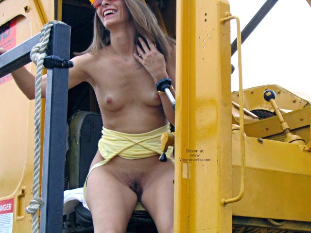 Pic #6 - Robin Playing With Heavy Equipment  1