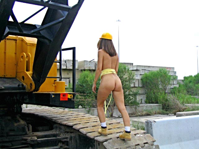 Pic #9 - Robin Playing With Heavy Equipment  1