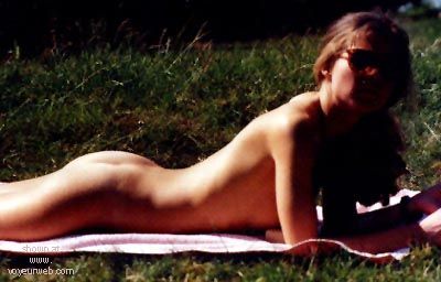 Pic #1 - Emily nude in public