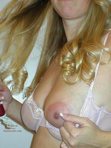 Pic #6 - Wife In New Sheer Bra