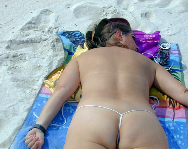 Pic #2 - Wife At The Beach