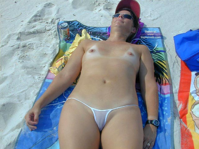 Pic #3 - Wife At The Beach