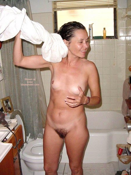 Pic #6 - Work In Panties - Then Hit The Shower