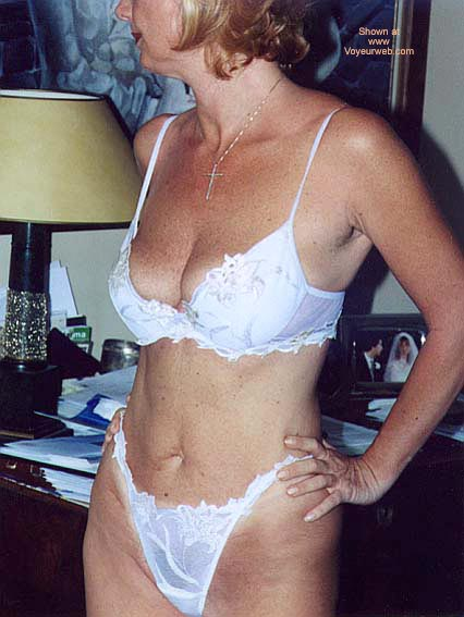 Pic #1 - Patrizia In & Out White Lingerie