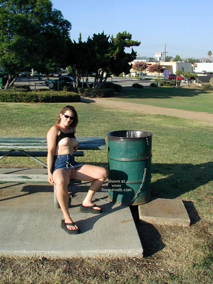 Pic #3 - Cindy At Local Park