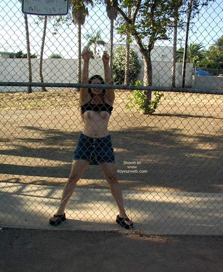 Pic #6 - Cindy At Local Park