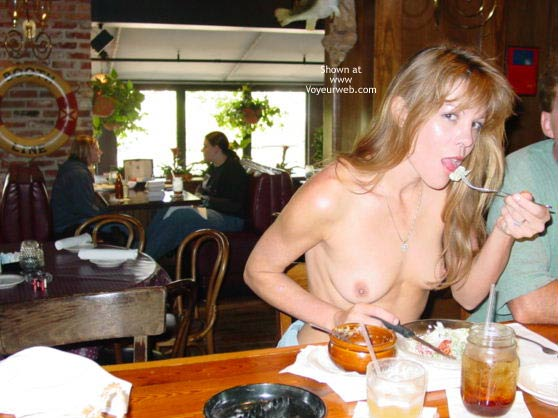 Pic #1 - Mmmmm, A Naked Lunch Date...