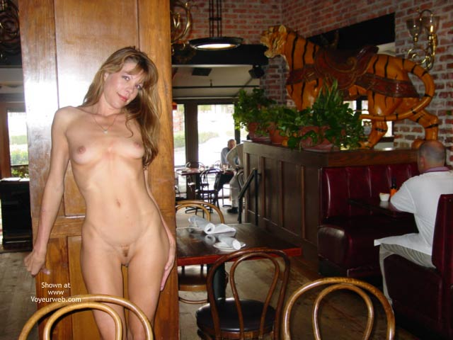 Pic #3 - Mmmmm, A Naked Lunch Date...