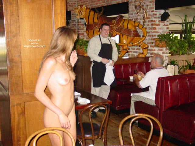 Pic #4 - Mmmmm, A Naked Lunch Date...