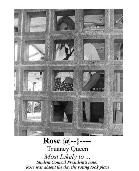 Pic #1 - *Yb  Rose @--}---- Truancy Queen