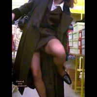 Xeliane in a Shoe Shop