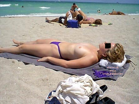 Pic #2 - Beach Boobs