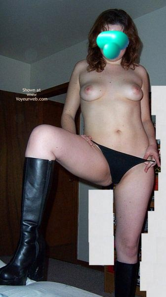 Pic #6 - Hot Wife In Boots First Time