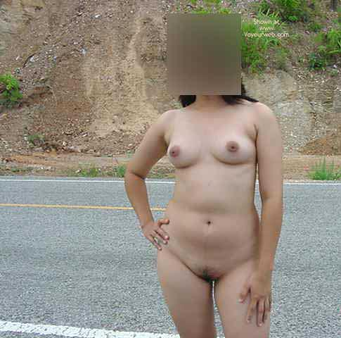 Pic #5 - Nude On The Road.