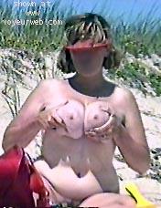 Pic #3 - Busty Beach