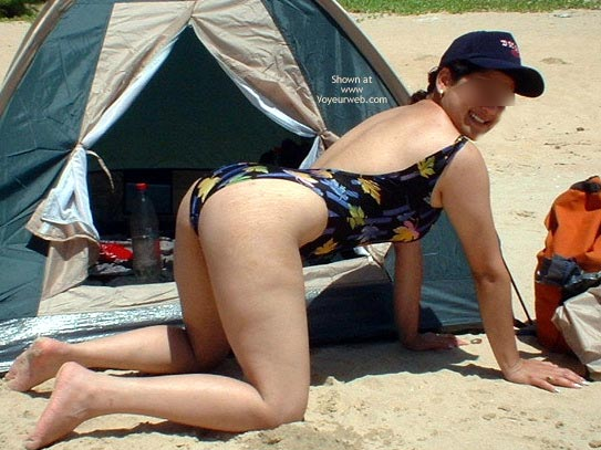 Pic #8 - Indiebabe Gets Naughty On The Beach