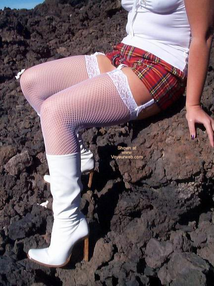 Pic #6 - Stockings On A Volcano