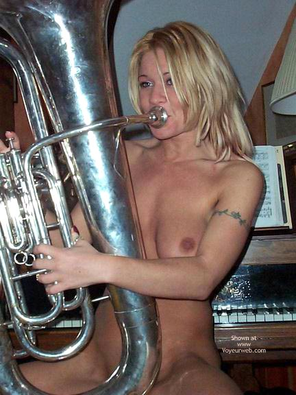 Pic #2 - Blowing A Large Instrument !