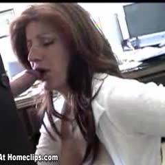 Rita's Office BlowJob