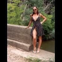 Kari'S Poka-Dot Dress