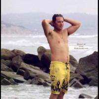 M* Michael Nude BodySurfing at Blacks Beach 1 of 2