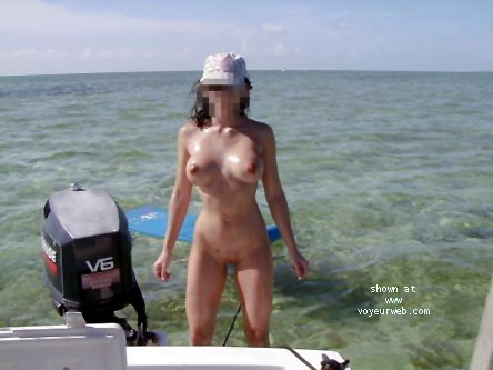 Pic #7 - Veronica on the High Seas....Again
