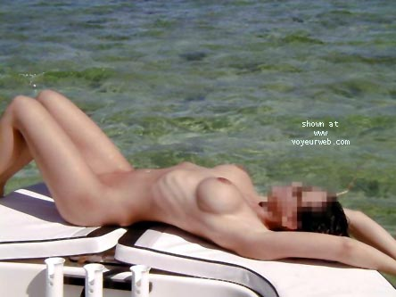 Pic #8 - Veronica on the High Seas....Again