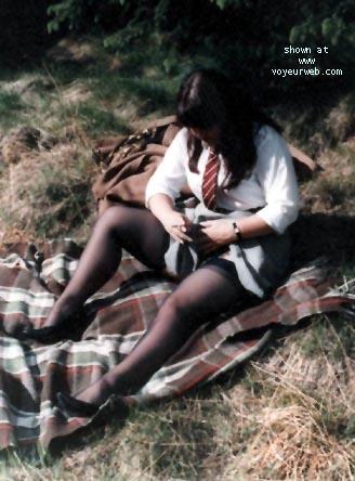 Pic #2 - Schoolgirl Girlfriend