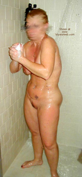 Pic #2 - Sharon In The Shower