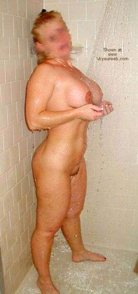 Pic #4 - Sharon In The Shower