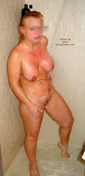 Pic #5 - Sharon In The Shower