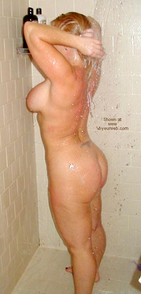Pic #6 - Sharon In The Shower