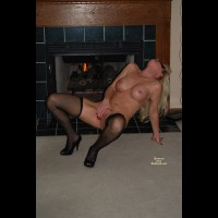 The Masked Milf - Fishnets