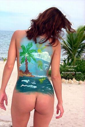 Pic #2 - Joy's Body Painting #2