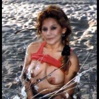 Carmen at the Beach