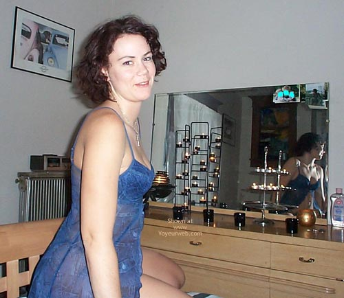 Pic #4 - Suzanne In Blue