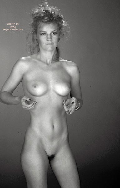 Pic #2 - Gina Nude In Black And White