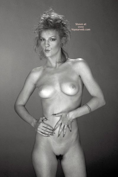 Pic #3 - Gina Nude In Black And White