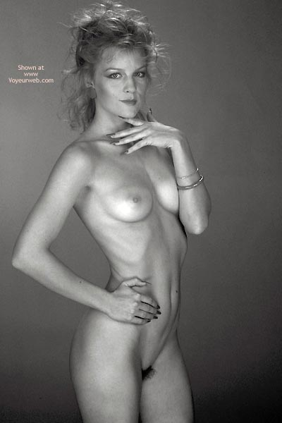 Pic #4 - Gina Nude In Black And White