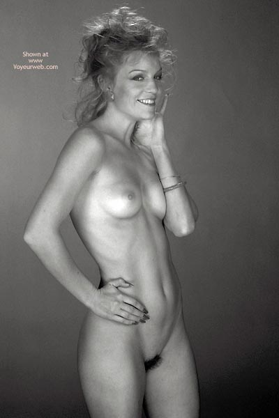 Pic #5 - Gina Nude In Black And White