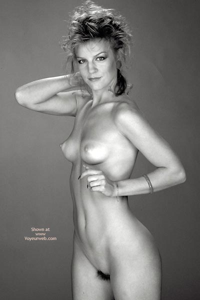Pic #6 - Gina Nude In Black And White