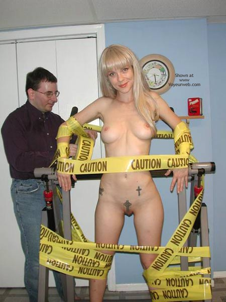 Pic #4 - Caution:  Bound Hottie