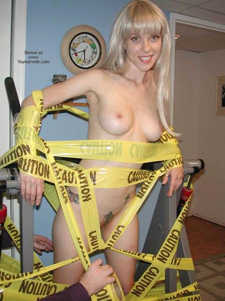 Pic #6 - Caution:  Bound Hottie