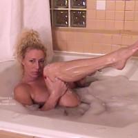Nasty Ashley Shaving Her Pussy