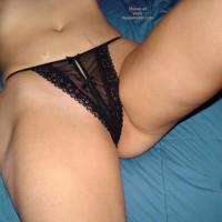 New Black Thong