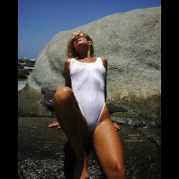 White Bikini - Bikini, Tiny Tits, Wet