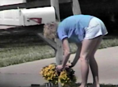 Pic #3 - Planting flowers
