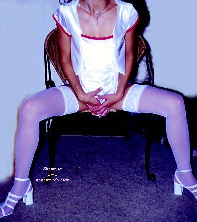 Pic #4 - White Stockings 1
